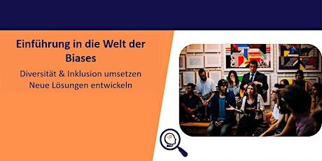 Gratis Webinar: Diversität, Inklusion & De-Biasing tickets