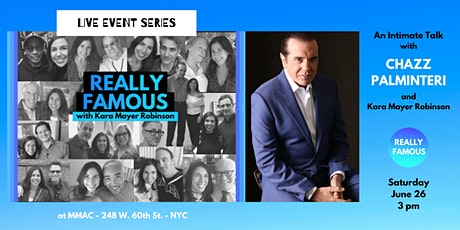 An Intimate Talk with Chazz Palminteri tickets