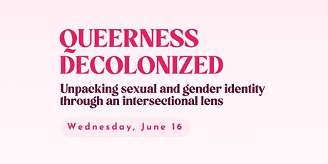 Queerness Decolonized tickets