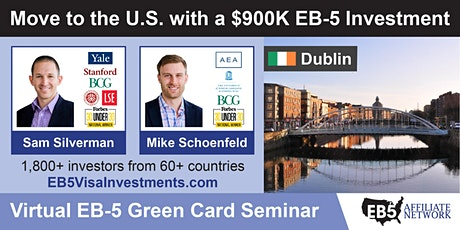 U.S. Green Card Virtual Seminar – Dublin, Ireland tickets