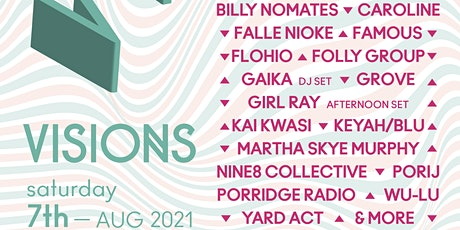 VISIONS FESTIVAL 2021 tickets