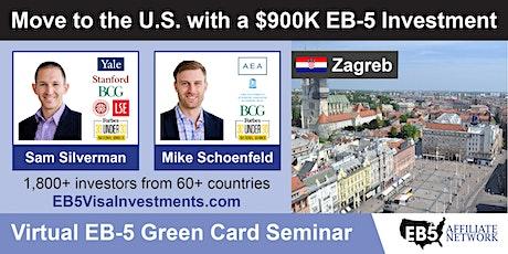 U.S. Green Card Virtual Seminar – Zagreb, Croatia tickets