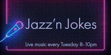 Jazz & Jokes tickets