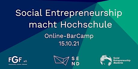 Social Entrepreneurship macht Hochschule Tickets