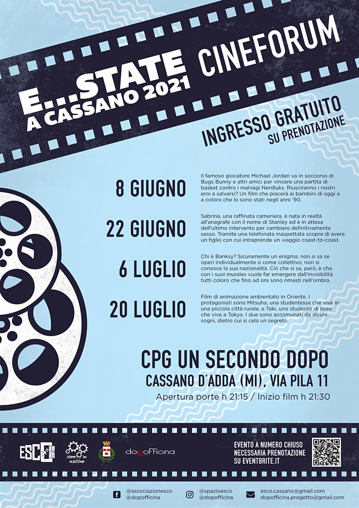 Immagine E...state a Cassano - Cineforum in terrazza