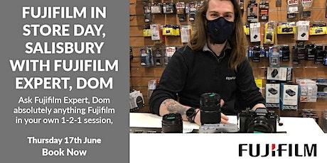 Fujifilm In-store day, Salisbury tickets