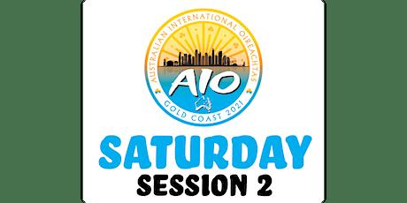 Australian International Oireachtas - Saturday Session 2 tickets