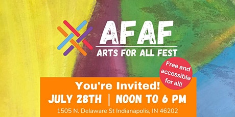 Arts for All Fest tickets
