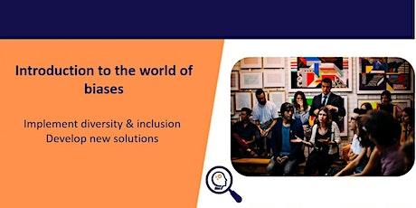 Free Webinar: Diversity, inclusion & de-biasing tickets