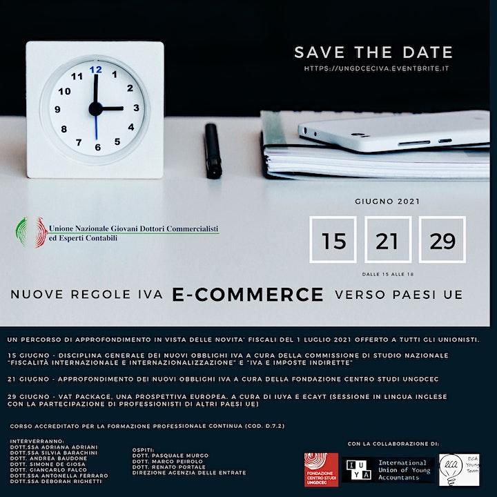 Immagine Percorso di approfondimento sulle novità Iva e-commerce verso paesi UE