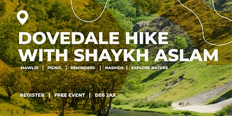 Dovedale Hike with Shaykh Aslam tickets