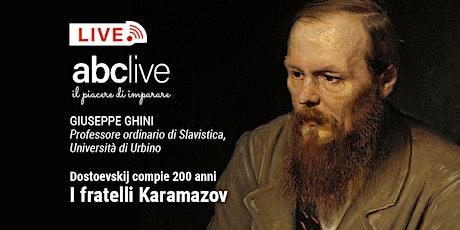 Giuseppe Ghini - I fratelli Karamazov biglietti