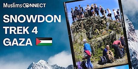 Snowdon Trek4Gaza tickets