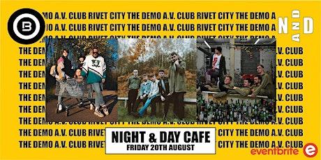 Open Beat Presents The Demo / A.V Club / Rivet City tickets