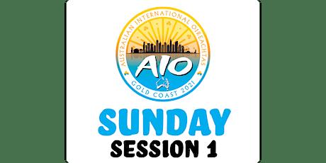 Australian International Oireachtas - Sunday Session 1 tickets