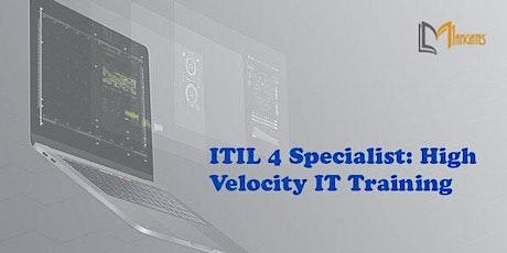 ITIL 4 Specialist: High Velocity IT 1 Day Training in Leon de los Aldamas entradas