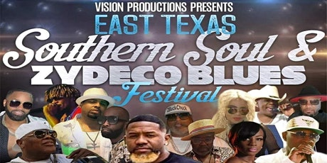 East Texas Southern Soul, Zydeco Blues Festival tickets