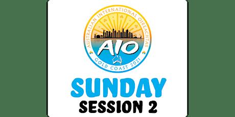 Australian International Oireachtas - Sunday Session 2 tickets