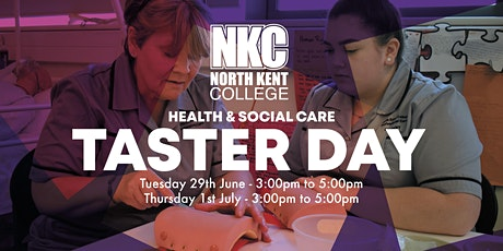 Taster Day-  Health & Social Care tickets