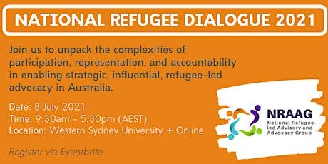 National Refugee Dialogue 2021 tickets
