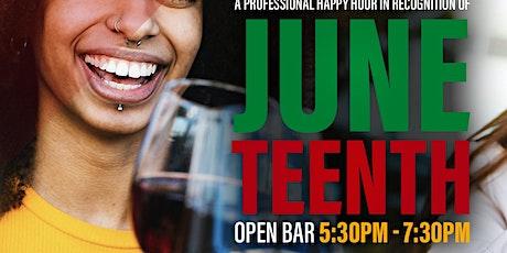 Burns Sheppard Favors: A Juneteenth Happy Hour Celebration tickets