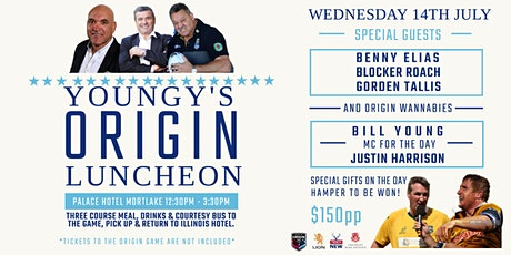 Youngy's Origin Luncheon tickets