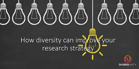 Inclusion Helix - How diversity can improve your research strategy tickets