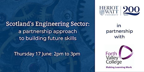 Engineering sector: a partnership approach to building future skills tickets