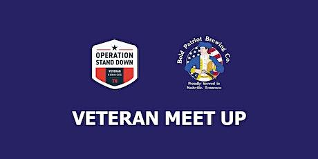 July Veteran Meet Up tickets