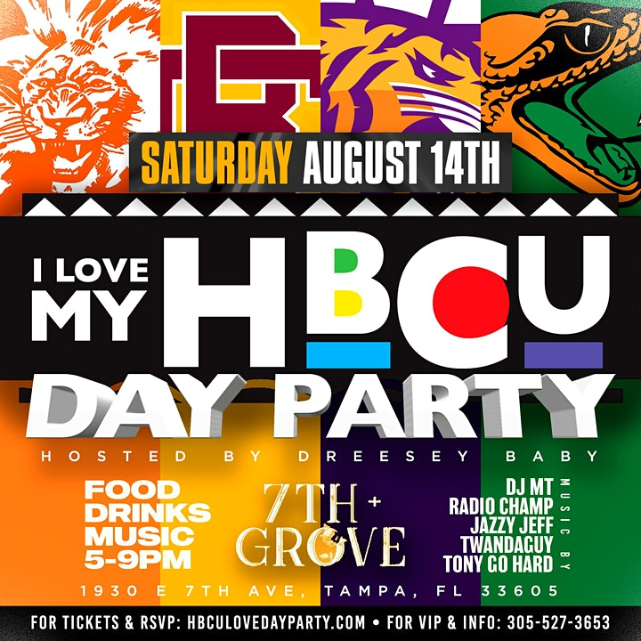 I LOVE MY HBCU DAY PARTY! image