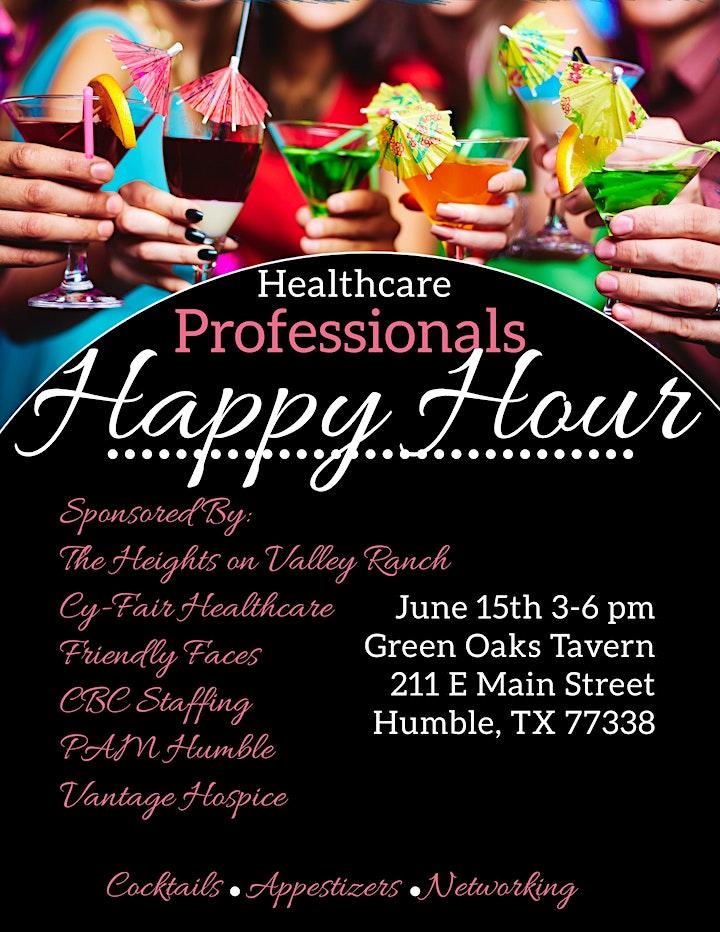 Healthcare Professionals Happy Hour image