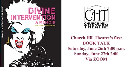 Book Talk: Divine Intervention with author Janet Freedman tickets