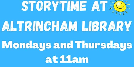 Storytime at Altrincham Library tickets