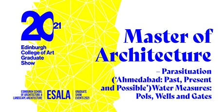 Master of Architecture – Parasituation tickets