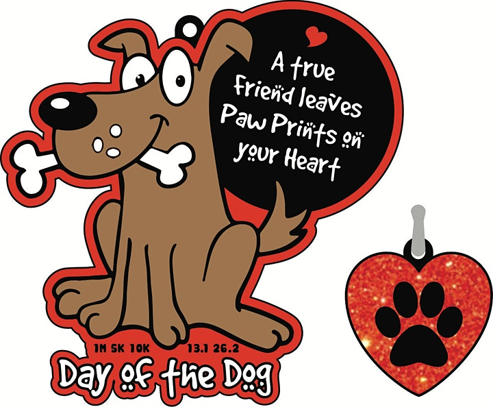 2021 Day of the Dog 1M 5K 10K 13.1 26.2-Participate from Home. Save $5! image