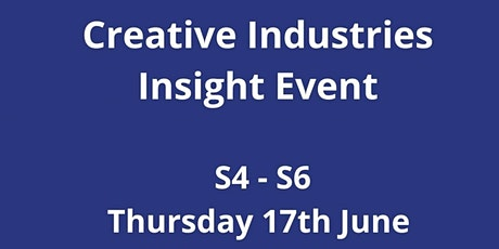 Creative Industries Insight Event tickets