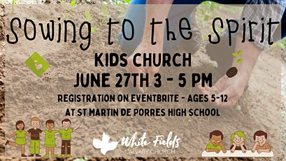 White Fields Calvary Church Sunday  Afternoon Kids Church tickets