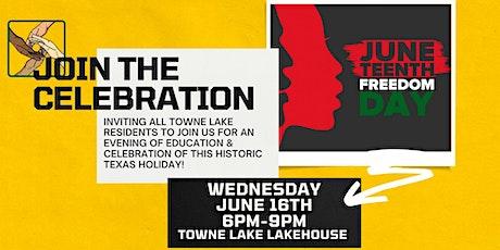 Towne Lake Juneteenth 2021 Celebration entradas