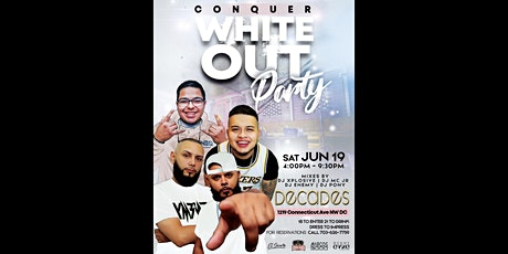 White Out Party Part 2 @ Decades tickets
