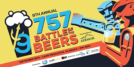 9th Annual 757 Battle of the Beers tickets