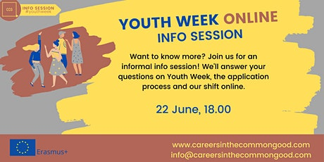 Youth Week Online - Info Session ingressos