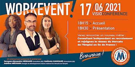 Work event - Rejoignez le réseau du Mercato de l'emploi en Ile de France ! billets