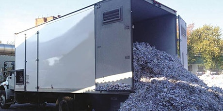 Shred your unwanted documents tickets
