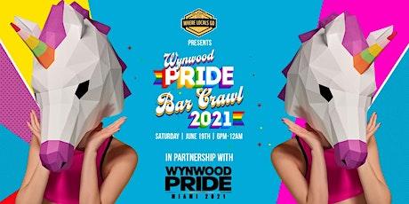1st  Annual Wynwood Pride Bar Crawl tickets