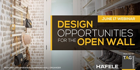 Design Opportunities for the Open Wall tickets