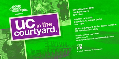 uc in the courtyard: bobby flowers tickets