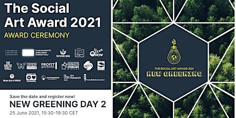 New Greening Day II - The Social Art Award 2021 Ceremony tickets