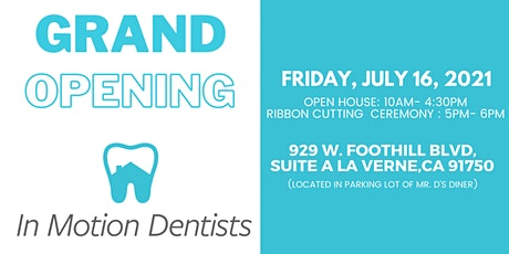 In Motion Dentists Grand Opening tickets
