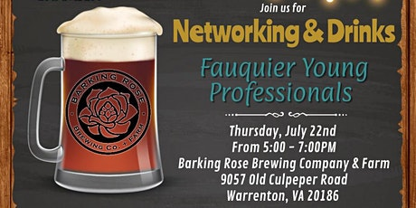 Fauquier Young Professionals - Networking tickets