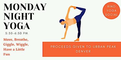 Monday Night Yoga tickets